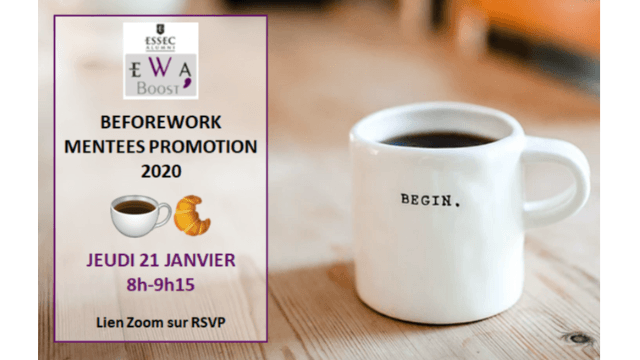 EWA Boost' - Beforework Mentees promotion 2020