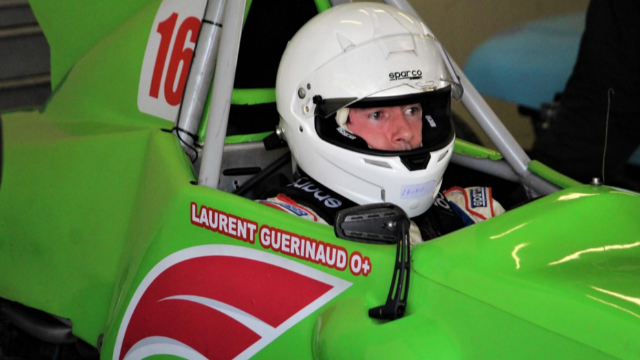 Laurent Guerinaud (E99), champion de Formule Vee