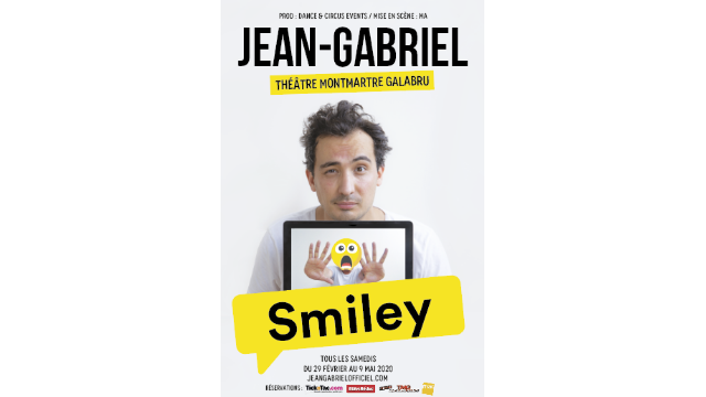 One-man-show : Jean-Gabriel (E11) dans Smiley