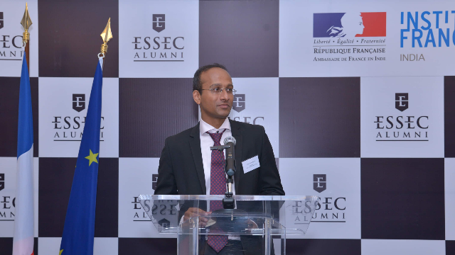 "Sriram Raghavan (E13), Head of ESSEC Alumni's India Chapter: ""1 in 4 alumni in India have started their own ventures"""